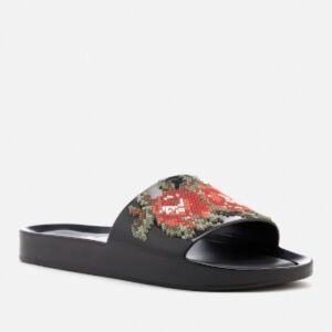 Melissa Pixel Flower Beach Slide